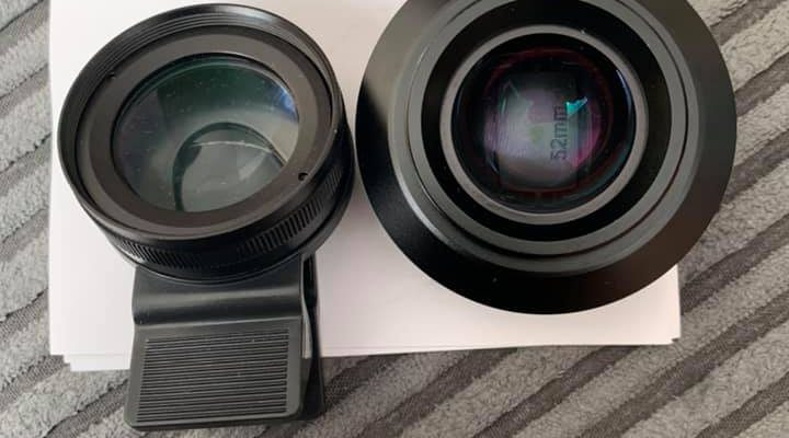 How to clean a Projector inside lens?